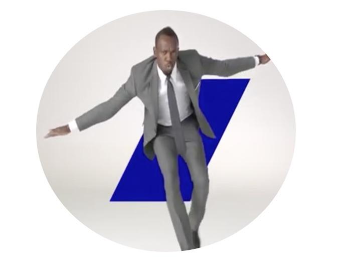 Usain Bolt Japanese TV Advertising